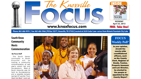 Monday, April 23, 2012 Focus