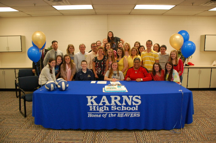 Karns Senior Signs With Johnson and Wales