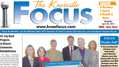 Monday, April 30, 2012 Focus
