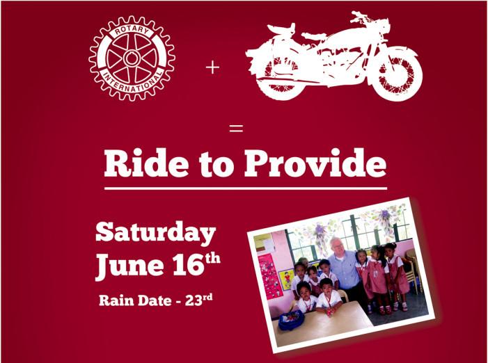 Seymour Rotary Club Sponsors Motorcycle Rally for Filipino Children