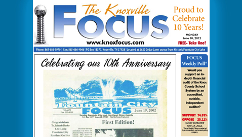 The Knoxville Focus: Monday, June 18, 2012