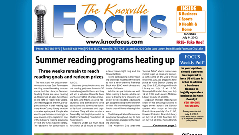 The Knoxville Focus: Monday, July 9, 2012