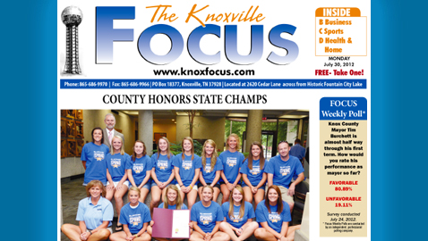 The Knoxville Focus: Monday, July 30, 2012
