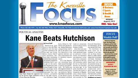 The Knoxville Focus: Monday, August 6, 2012