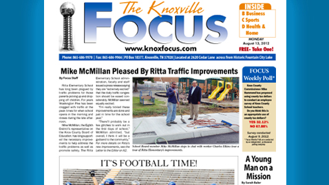 The Knoxville Focus: Monday, August 13, 2012