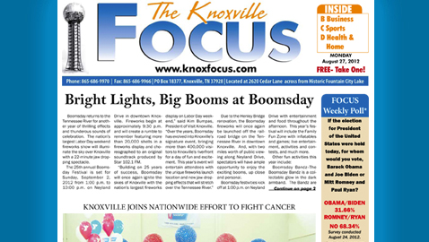 The Knoxville Focus: Monday, August 27, 2012
