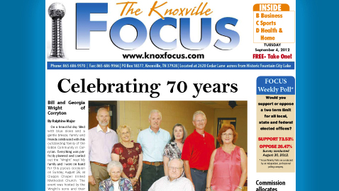 The Knoxville Focus: Tuesday, September 4, 2012