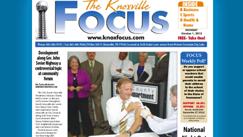 Knoxville Focus for Monday, October 1, 2012