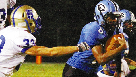 Rollins Sets Fulton Rushing Record in 48-10 Win