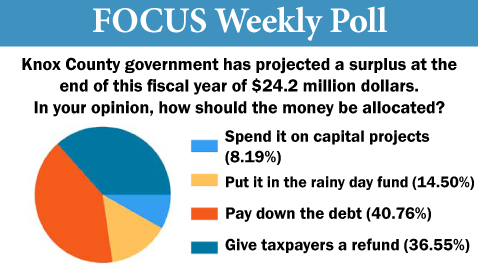 Voters tell what they would do with surplus