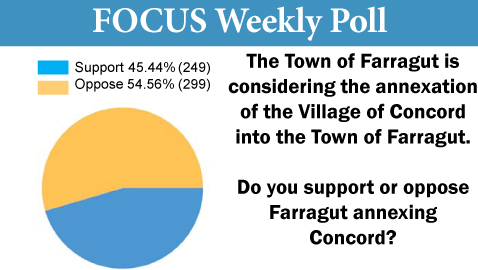 Stiff Opposition To Proposed Annexation of Concord
