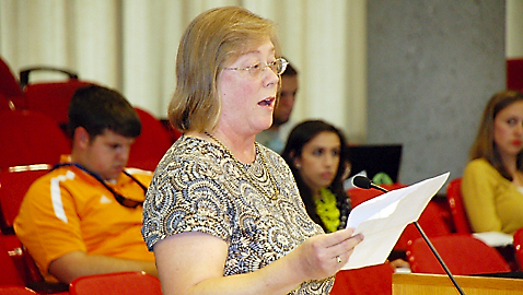 McMillan Challenges Grievance Policy