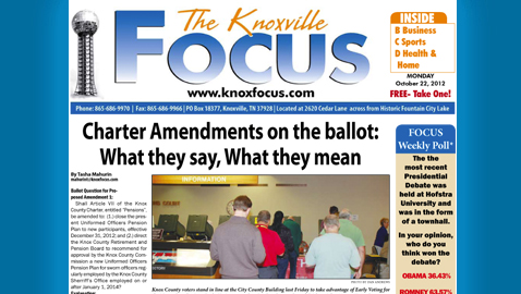 View Knoxville Focus for Monday, October 22