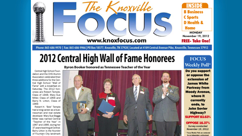 Knoxville Focus for November 19, 2012