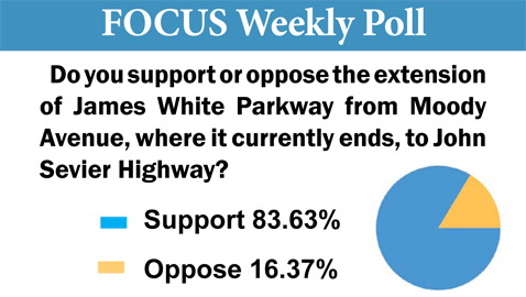 South Knoxvillians Favor Parkway Extension