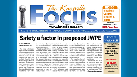 Knoxville Focus for Monday, December 3