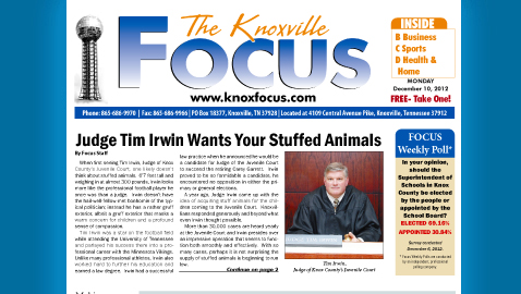 Knoxville Focus for December 10, 2012