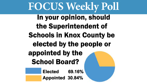 Knox Countians Still Favor Elected Superintendent