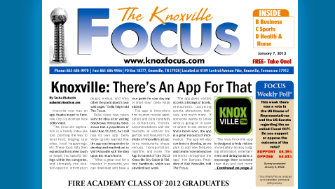 Knoxville Focus for Monday, January 7, 2013