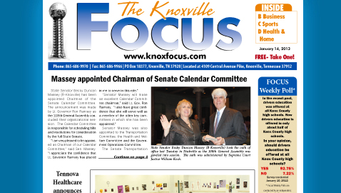 Knoxville Focus for January 14, 2013