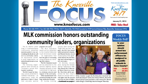 Knoxville Focus for January 21, 2013