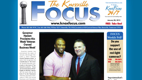 The Knoxville Focus for Monday, January 28, 2013
