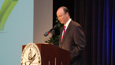 Superintendent gives State of the Schools address