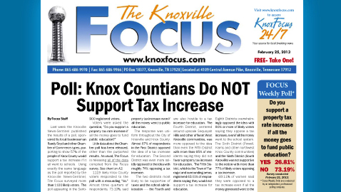 Knoxville Focus for February 25, 2013
