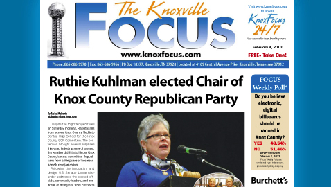 Knoxville Focus for Monday, February 4