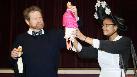 Author of Amelia Bedelia Children's Books Visits Academy