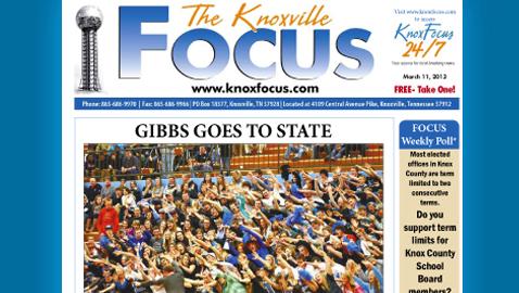 Knoxville Focus for Monday, March 11