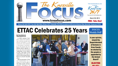 Knoxville Focus for March 25, 2013