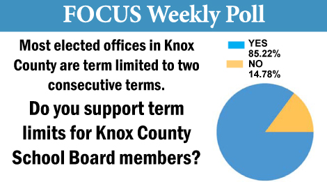 Knox Countians Favor Term Limits for School Board