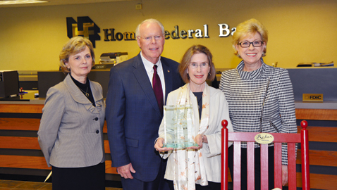Home Federal Bank Honors Hometown Heroes