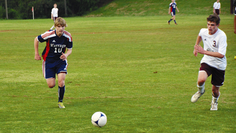 Admirals rout Bearden 6-0 in rivalry match