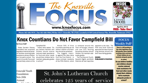 Knoxville Focus for Monday, April 8
