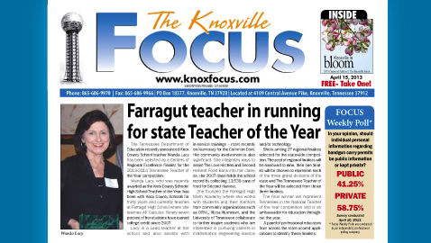 Knoxville Focus for April 15, 2013