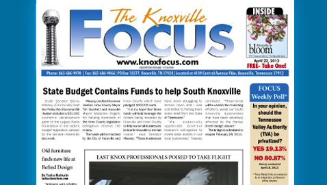 Knoxville Focus for April 22, 2013