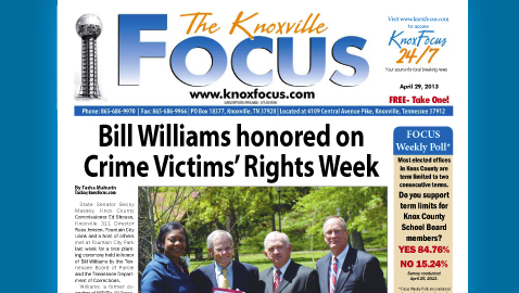 Knoxville Focus for April 29, 2013