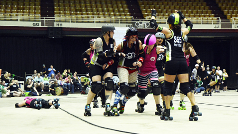 HKRG, roller derby growing in K-Town