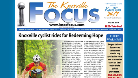 Knoxville Focus for May 13, 2013