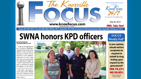 Knoxville Focus for Monday, May 20
