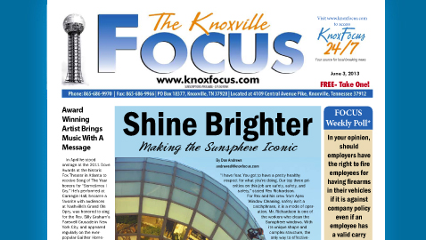 Knoxville Focus for Monday, June 3, 2013