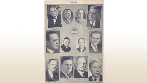 Tennessee's Congressional Delegation 1945-46