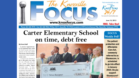 Knoxville Focus for Monday, June 10, 2013