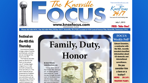 Knoxville Focus for Monday, July 1