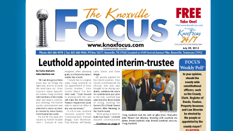 Knoxville Focus for July 29, 2013