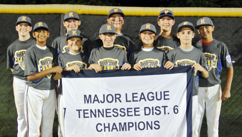 Karns rolls past Maryville to claim District 6 Little League title