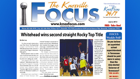 Knoxville Focus for Monday, July 8