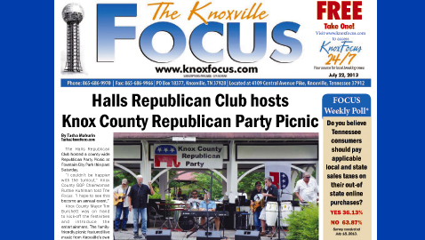 Knoxville Focus for Monday, July 22